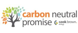 Carbon Neutral Promise Logo by Cook Brown Energy